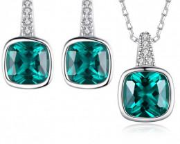 Silver 925 Quailty Classy Fashion Jewelry Set  code CCC 1646