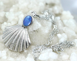Australian Sea Collection Doublet Opal Shell Pendant CCC 1705