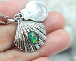 Australian Sea Collection  Opal Shell Pendant CCC 1714