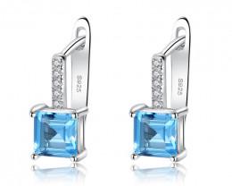 Silver 925 Quailty Classy Fashion Earrings  code CCC 1658