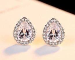 Silver 925 Quailty Classy Fashion Earrings  code CCC 1674