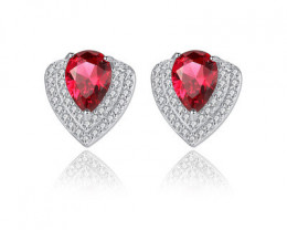 Silver 925 Quailty Classy Fashion Earrings  code CCC 1676