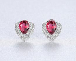 Silver 925 Quailty Classy Fashion Earrings  code CCC 1677