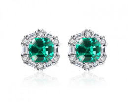 Silver 925 Quailty Classy Fashion Earrings  code CCC 1679