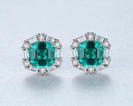 Silver 925 Quailty Classy Fashion Earrings  code CCC 1680