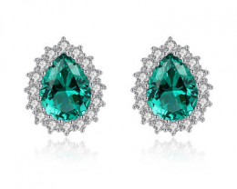Silver 925 Quailty Classy Fashion Earrings  code CCC 1685