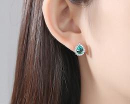 Silver 925 Quailty Classy Fashion Earrings  code CCC 1686