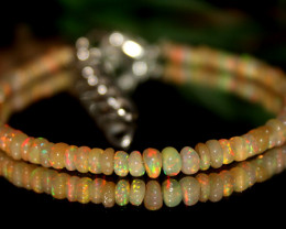 13 Crts Natural Ethiopian Welo opal bracelet 340