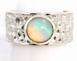 Welo Opal Band Ring 1.00ct.