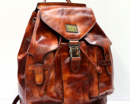 GENUINE COW LEATHER BACKPACK