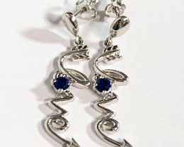 Silver 925 Love sign  Earring