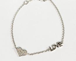 Silver 925 Love sign Bracelets