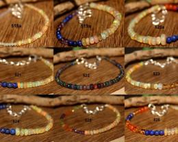 Natural Mixed Gemstone Bracelets