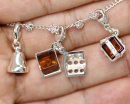 Natural Baltic Amber Jewellery Set code GI 1447