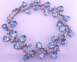 Natural Topaz Bracelet