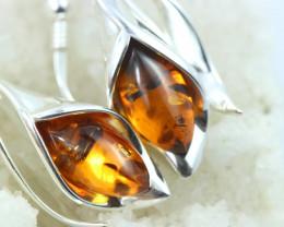 Natural Baltic Amber Earrings   code GI 1699