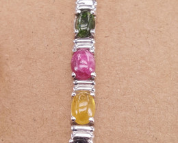 Natural Tourmaline  Gorgoues Bracelet