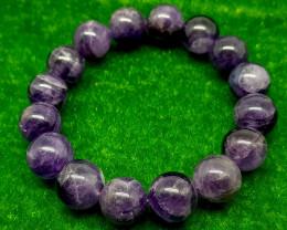 Natural Purple Amethyst Bracelet 204.00 Carats