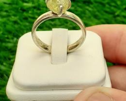 Natural Mali garnat  925 Silver Ring