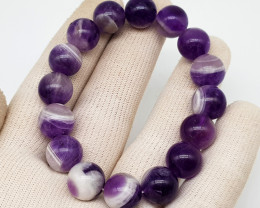 Natural Purple Amethyst Bracelet 210.00 Carats