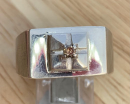 Natural Diamond Ring TCW  0.08