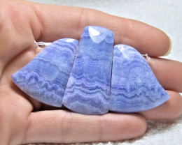 146.0 Tcw. Blue Rhodochrosite Fan - Gorgeous