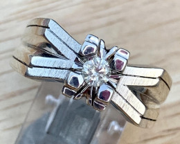 Natural Diamond  Ring TCW  0.20
