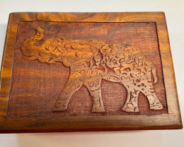Boho Elephant Jewellery Box code C- BOXELMA