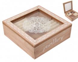 Boho Jewellery Box with draw code C-BOHOJEWB