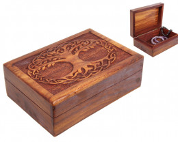 Tree Of Life Jewellery Box with draw code C-BOXTOL