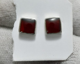 Natural Agate 925 Silver Earring