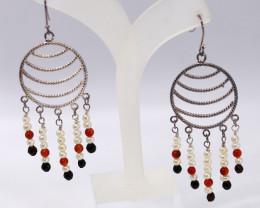 Silver Fresh Water Pearl Fashion earring JE03