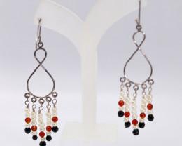 Silver Fresh Water Pearl Fashion earring JE04
