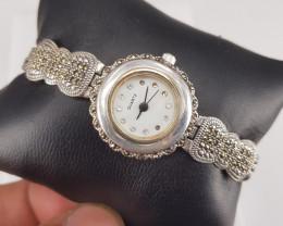 Natural Marcazite Watch