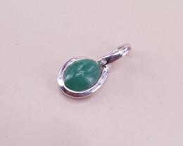 Natural Emerald Cabushan