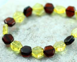 Beautiful Baltic Amber Bracelet  code CCC2952