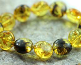 Beautiful Baltic Amber Bracelet  code CCC2960