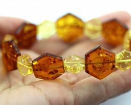 Beautiful Baltic Amber Bracelet  code CCC2965
