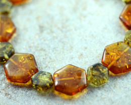 Beautiful Baltic Amber Bracelet  code CCC2966