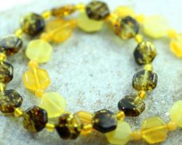 Beautiful Baltic Amber Bracelet 2pcs  code CCC2976
