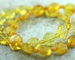 Beautiful Baltic Amber Bracelet 2pcs  code CCC2977