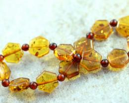 Beautiful Baltic Amber Bracelet  code CCC2982
