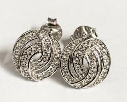 Modern Style Sterling Silver 925 Earring