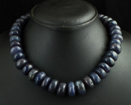 Genuine 778.00 Cts Iolite  Beads Necklace