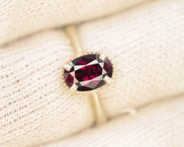 Unique Design 11.60 Ct Silver Ring ~ With Mahenge Garnet Stone