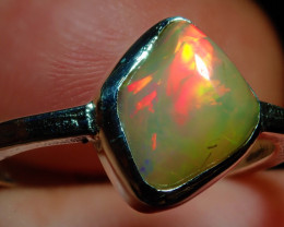 13.33ct Natural Ethiopian Welo Opal .925 Sterling Silver