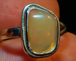 8.25sz Natural Ethiopian Welo Opal .925 Sterling Silver