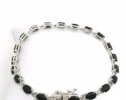 Black Tourmaline Bracelet 9.00tcw.