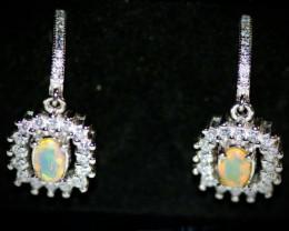 Welo Opal 1.50ct Earrings