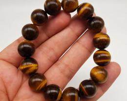 Natural Tiger Eye Bracelet 295.70 Carats
